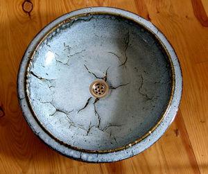 ATELIER DE LEVEJAC - grande vasque à l'ancienne diam 50 cm - Waschbecken Freistehend