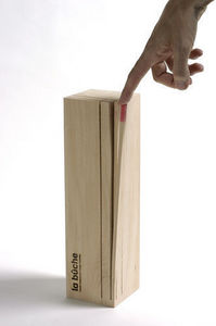 Design Pyrenees Editions - bûche - Dichtes Holzscheit