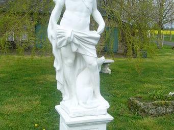antiquites materiaux anciens deco de jardins -  - Statue