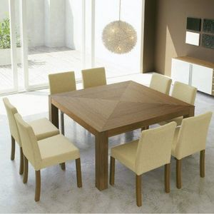 4-Pieds - table carrée next - Quadratischer Esstisch