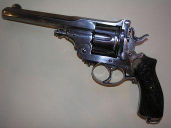 Aux Armes d'Antan - beau revolver système pryse - Pistole Und Revolver