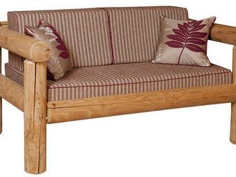 Azur Confort - vieux bois - Sofa 2 Sitzer