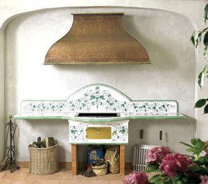 Pugi Ceramiche - positano - Holzkohlegrill