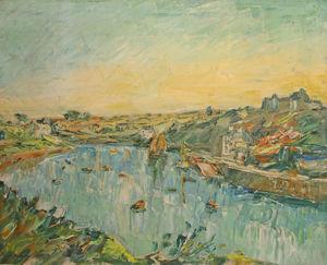 Galerie Brugal -  - Ölgemelde Auf Leinwand Und Holztafel