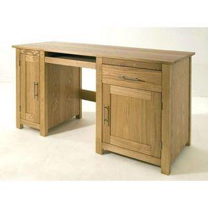 Abode Direct - lincoln ash computer desk - Schreibtisch
