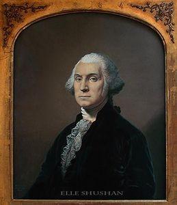 ELLE SHUSHAN - american portrait miniatures - Porträt