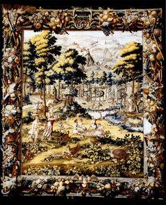 FOSTER-GWIN - brussels tapestry ?julius et augustus? - Brüsseler Wandteppich