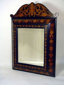 Brookes-Smith - marquetry mirror - Spiegel