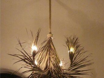 Eco-sensible lifestyle - palmier - Kronleuchter