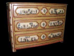 Le Grand Chêne Antic - Anduze - commode louis xiv en arte povera - Kommode