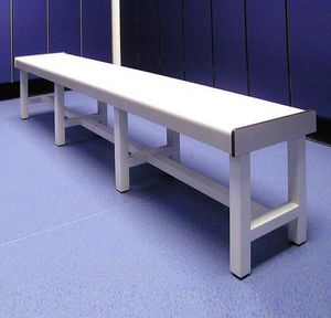 Decra - bench with post-formed solid laminate top - Bank
