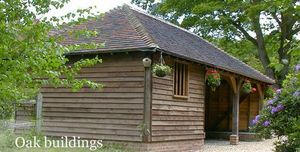 West Sussex Antique Timber Company -  - Sommerpavillon