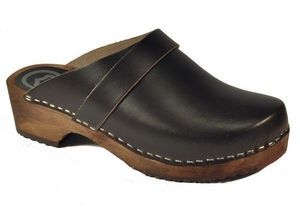 SCANDIBAY - marron nuit - Clogs