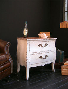 BLEU PROVENCE - vintage blanc - Nachttisch