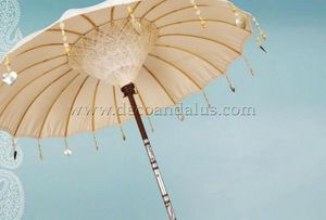 Decoracion Andalusia - oyster pearl - Sonnenschirm