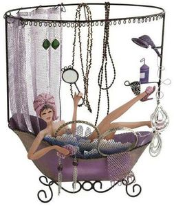 Balvi - porte bijoux bath girl en métal - Schmuckständer