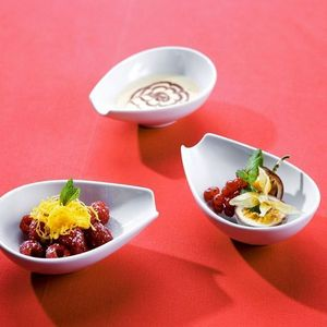 3 femmes & 1 coussin - buffet - Hors D'oeuvre Schale