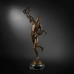 Expertissim - henri greber. victorieux - Skulptur