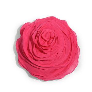 MAISONS DU MONDE - coussin rose fuchsia - Kissen Unkonventionell