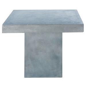 MAISONS DU MONDE - table à diner mineral - Quadratischer Esstisch