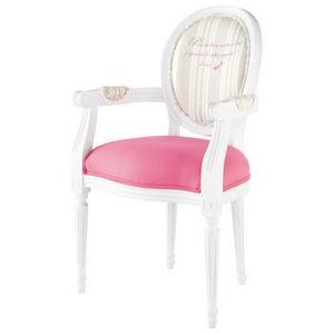 Maisons du monde - fauteuil louis - Medaillon Sessel