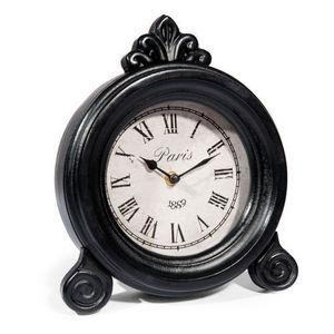 Maisons du monde - horloge william noire - Tischuhr