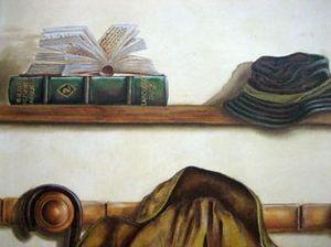 SYLVIE MAILHÉ POURSINES -  - Trompe L'oeil Malerei