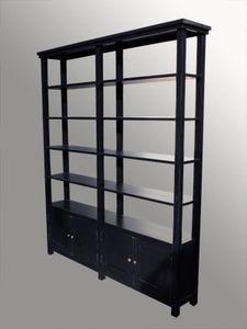 Lawrens - bibliothèque parfumeur - Massangefertigter Bücherschrank