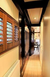 DECO SHUTTERS - shutters en orme massif - Klapp Lamellenfensterläden
