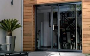 K-LINE -  - Schiebeglasfensterfront