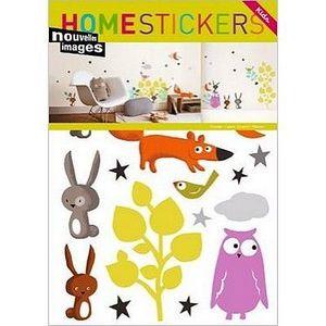Nouvelles Images - stickers adhésif animaux nouvelles images - Sticker