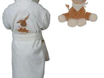 SIRETEX - SENSEI - peignoir enfant brodé arthur - Kinderbademantel