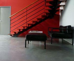 LE BETON DESIGN -  - Dekorativ Beton Für Böden