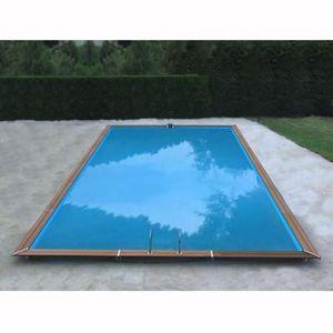 Christaline - gold piscine bois evolux 980x515x147cm - Pool Mit Holzumrandung