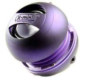 X-MINI - enceinte mp3 x mini ii - violet - Lautsprecher Mit Andockstation