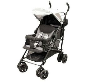 LOOPING - poussette double oslo black emotion - Buggy
