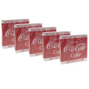 WHITE LABEL - 5 paquets de 20 serviettes collection coca cola tr - Tisch Serviette