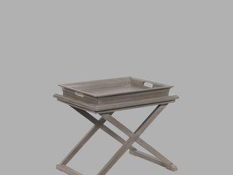 BLANC D'IVOIRE - jerry gris foncé - Standtablett