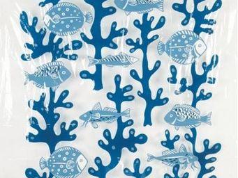 Opportunity - rideau de douche poissons bleus - Duschvorhang