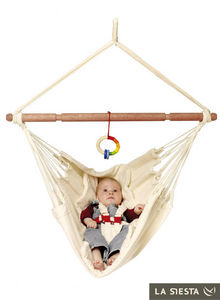 La Siesta - chaise hamac pour bébé yayita en coton bio - Babyhängematte