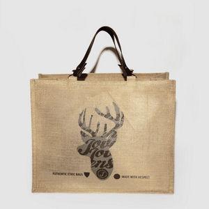 JOVENS - cabas en juet et cuir le cerf - Handtasche