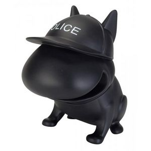 La Chaise Longue - tirelire bouledogue policeman - Spardose