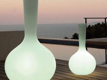 VONDOM - vase vondom chemistubes flask, led rgb - Leuchtblumentopf