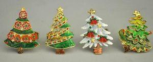 Demeure et Jardin - set 4 ronds de serviettes noël - Weihnachtsschmuck