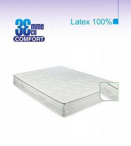 ECO CONFORT - matelas eco-confort 100% latex 7 zones 120 * 190 - Latexmatratze