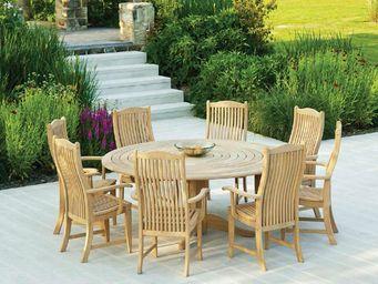 Alexander Rose - timber - Rundes Gartentisch
