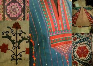 BAMYAN ETHNIC DREAMS -  - Traditioneller Teppich