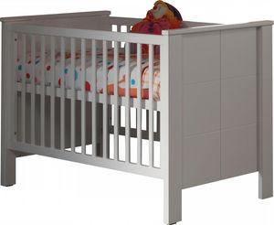 WHITE LABEL - lit bébé 70x140 cm coloris blanc - Baby Reisebett
