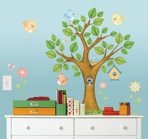 BORDERS UNLIMITED - stickers enfant dans l'arbre - Kinderklebdekor