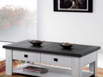 Ateliers De Langres - table basse whitney - Rechteckiger Couchtisch